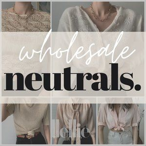 Neutrals Bundle reseller mystery box